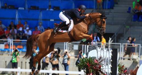 Equitation - Quatuor bleu à Shanghai au Global champions tour