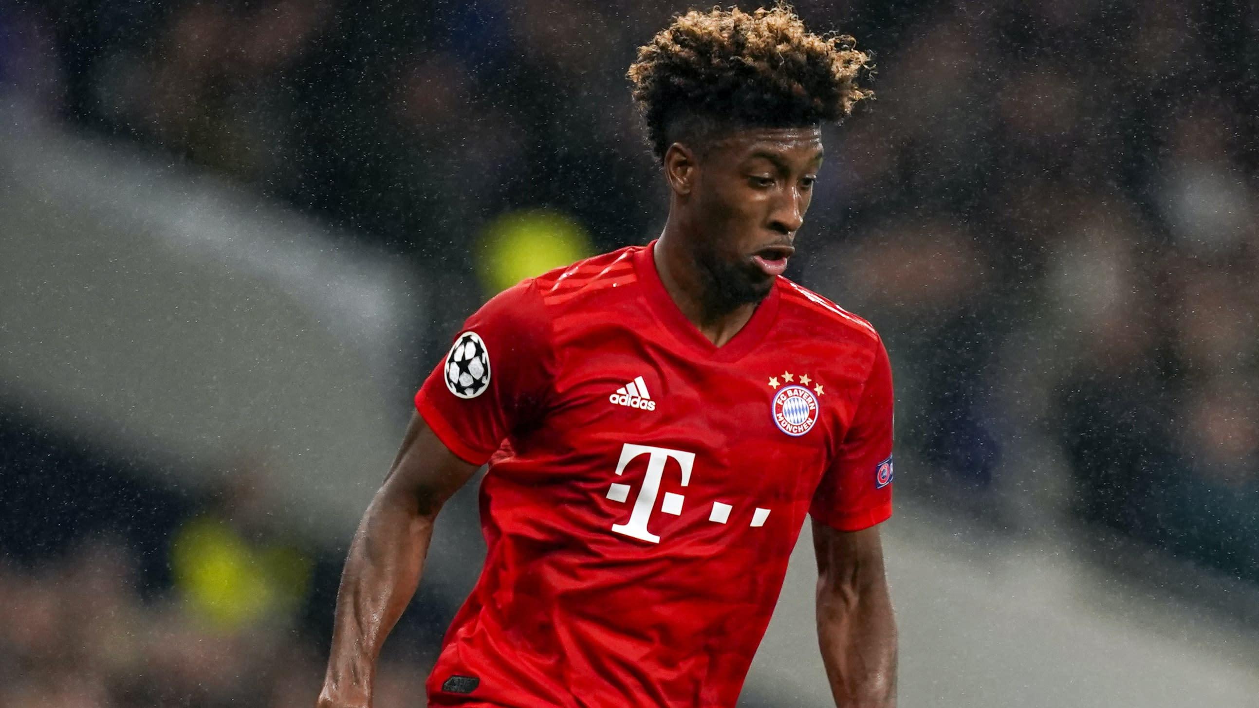 Kingsley Coman injured as Bayern Munich bid to finish job against Chelsea