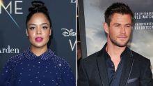 Tessa Thompson Joins Chris Hemsworth in 'Men in Black' Spinoff