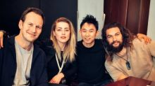 'Aquaman' Stars Jason Momoa, Amber Heard and Patrick Wilson Assemble in First Table Read Photo