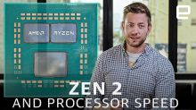 How did AMD make its Zen processors faster?