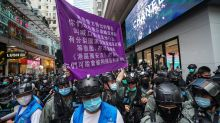 Hong Kong national security law: 26 arrests so far, resignation of a foreign judge, and suspension of a middle school pupil mark third month