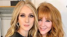 Celine Dion Goes Very Blonde