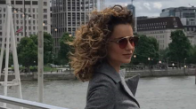 Pics: Queen Kangana Ranaut takes in the London air in style