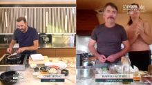 """Tous en cuisine en direct avec Cyril Lignac: """"bon courage Cyril"""", Didier de l'Amour est dans le pré, ingérable face au chef d'M6"""