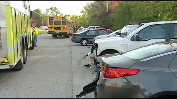 Del. school bus driver falls asleep, crashes