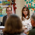 Melania Trump visits child detention center as fate of families remains unclear