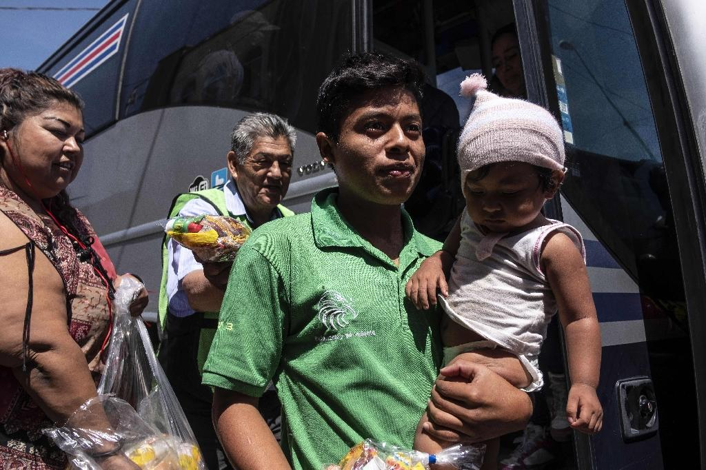 Activists leading the caravan said they would help some 200 migrants request asylum in the United States on the ground that they are fleeing violence or repression