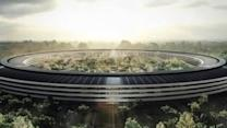 Drone Documents Apple Campus Construction