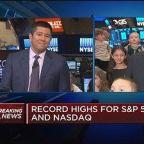 S&P 500, Nasdaq open at record highs