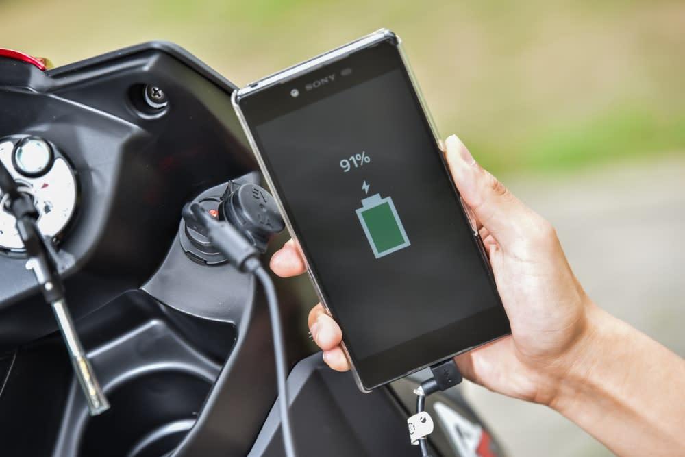能幫你的隨身電子產品充電。