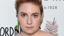 Lena Dunham just dyed her hair blue, and we're loving this new look