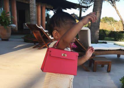 ffdd38ee4783ec Kylie Jenner's daughter has a $17,000 handbag