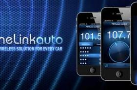 TuneLink Auto Bluetooth-to-FM transmitter for iOS 4 devices