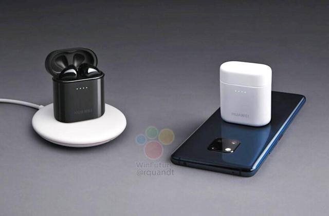 Your phone can wirelessly charge Huawei's new AirPod-like Freepods