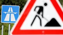 Großbaustelle: Staugefahr durch Vollsperrung am Autobahn-Dreieck Pankow