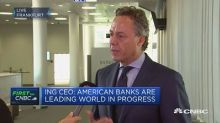 ING CEO: Banks are being disrupted by negative rates, dig...