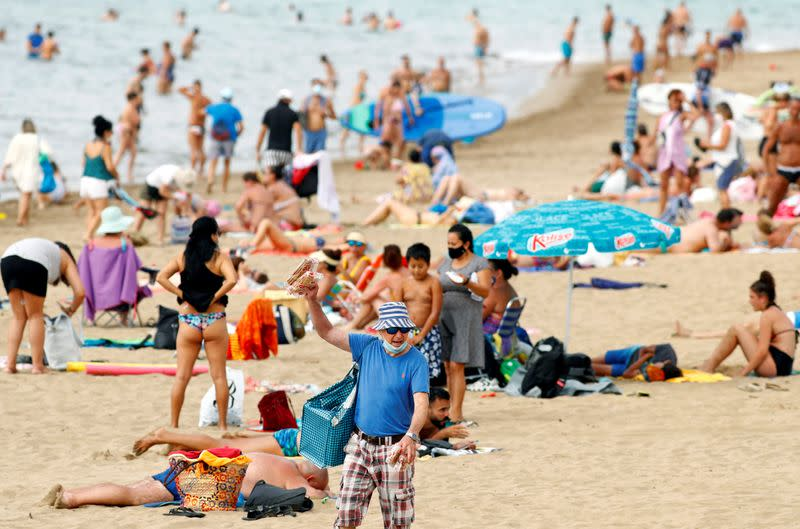 Spain's Canary Islands impose negative COVID-19 test rule for tourists