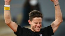 Diego Schwartzman stuns US champion Dominic Thiem in epic five-setter to reach French Open semi-finals