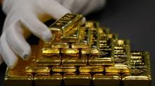 Gold flat as softer dollar offsets improving risk appetite