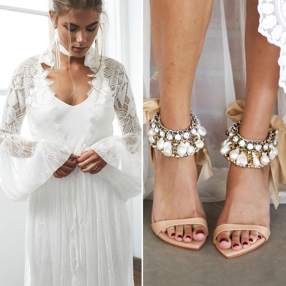 Peta Murgatroyd Rocked A Wedding After Party Dress That
