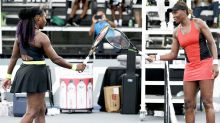 'Right up there': Serena and Venus Williams in 'unbelievable' clash