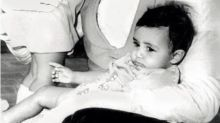Amitabh Bachchan shares an adorable throwback picture of Shweta and Abhishek