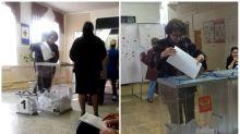 Las fotos que prueban que varias personas votaron 2 o más veces en las elecciones rusas