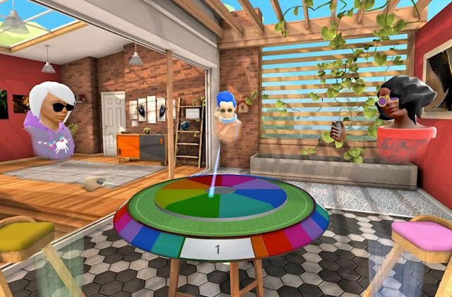 Oculus Rooms gets Hasbro games and a major redesign