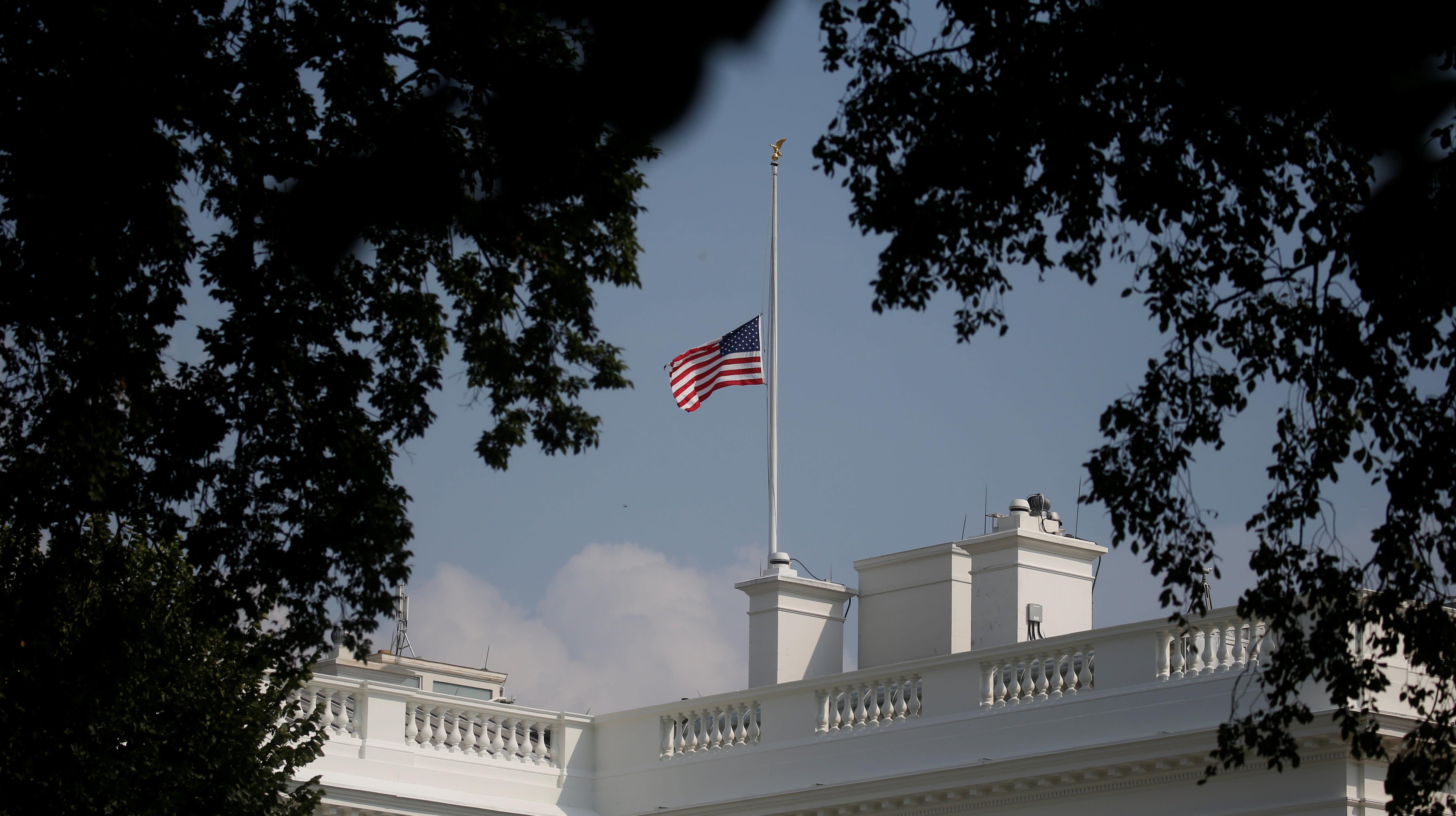 John McCain Is 'Partially To Blame' For White House Flag Drama, GOP Senator Says