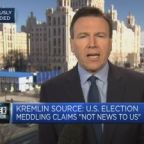 Kremlin source: US election meddling claims 'not news to us'