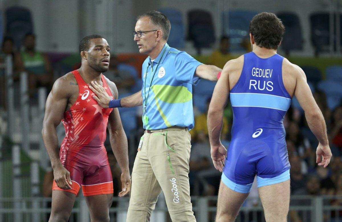 898dd5d30981 Wrestler Jordan Burroughs  quest for back-to-back golds thwarted in  quarterfinals