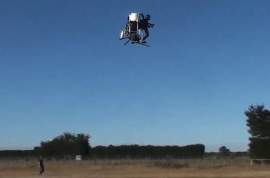 Martin Jetpack flies again, sees IPO on horizon but no commercial sales yet (video)