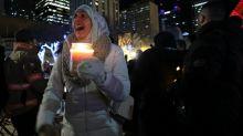Emotions flare at vigil for missing Edmonton woman