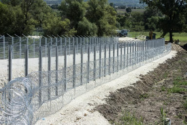 Serbia is building a fence near its border with North Macedonia, a common crossing point for migrants traversing the Balkan region