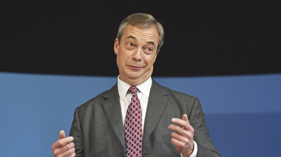 Farage criticises celebrities angry at Tory victory