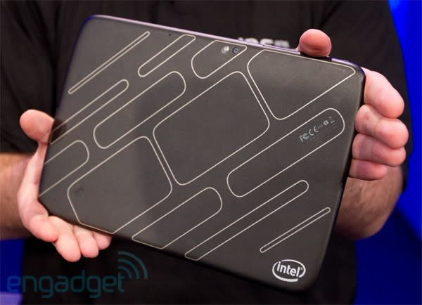 Intel shows off Medfield-based Android tablet at IDF 2011, we (briefly) go eyes-on (updated)