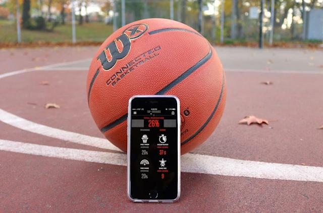 Wilson's X connected basketball is fun, but not ready for prime time