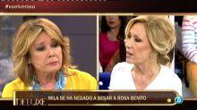 "Mila a Rosa Benito: ""Te mueres de envidia de Rocío Jurado, sin ella no eres nada"""
