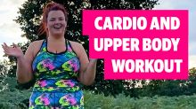 This easy to do anywhere workout will make you strong – and happy!