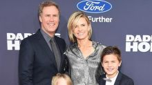 Will Ferrell Shows Off Adorable Sons at Movie Premiere