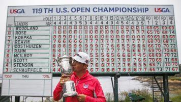 Woodland gana el US Open y su primer grande en Pebble Beach