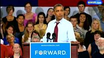Raw Video: President Obama campaigns in Windham