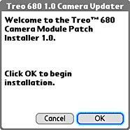 Palm offers software update for Treo 680