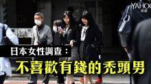 日本女性調查:不喜歡有錢的禿頭男