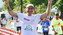 Com 60 quilos a menos, Leandro Hassum participa de corrida de rua: 'Antes não era possível'