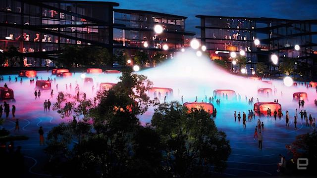 Toyota is building an insane smart city near Mount Fuji