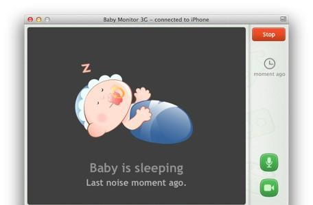 Baby Monitor 3G makes watching your baby much easier with new OS X version