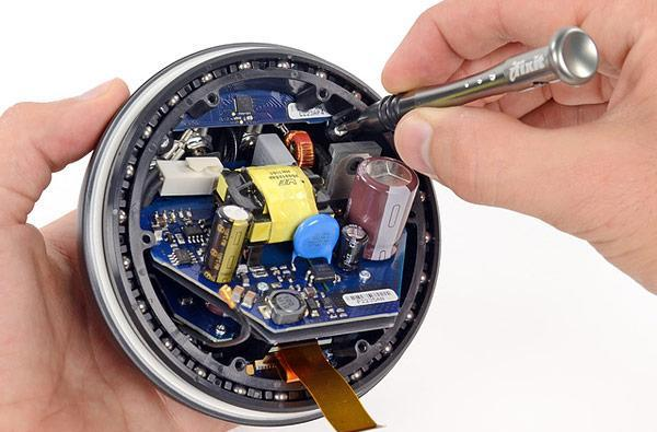 iFixit tears down the Nexus Q: made in the USA, and possibly somewhere else