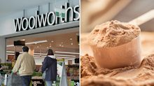 Recall warning for popular protein powder sold at Woolworths